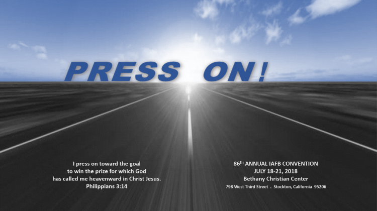 Press On – IAFB Convention 2018